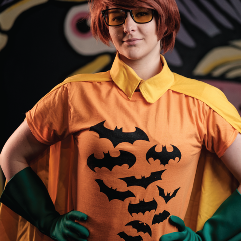 Flock of Bats Tee: Halloween Edition (Unisex)
