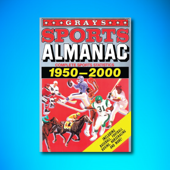 Back to the Future Sports Almanac POSTER