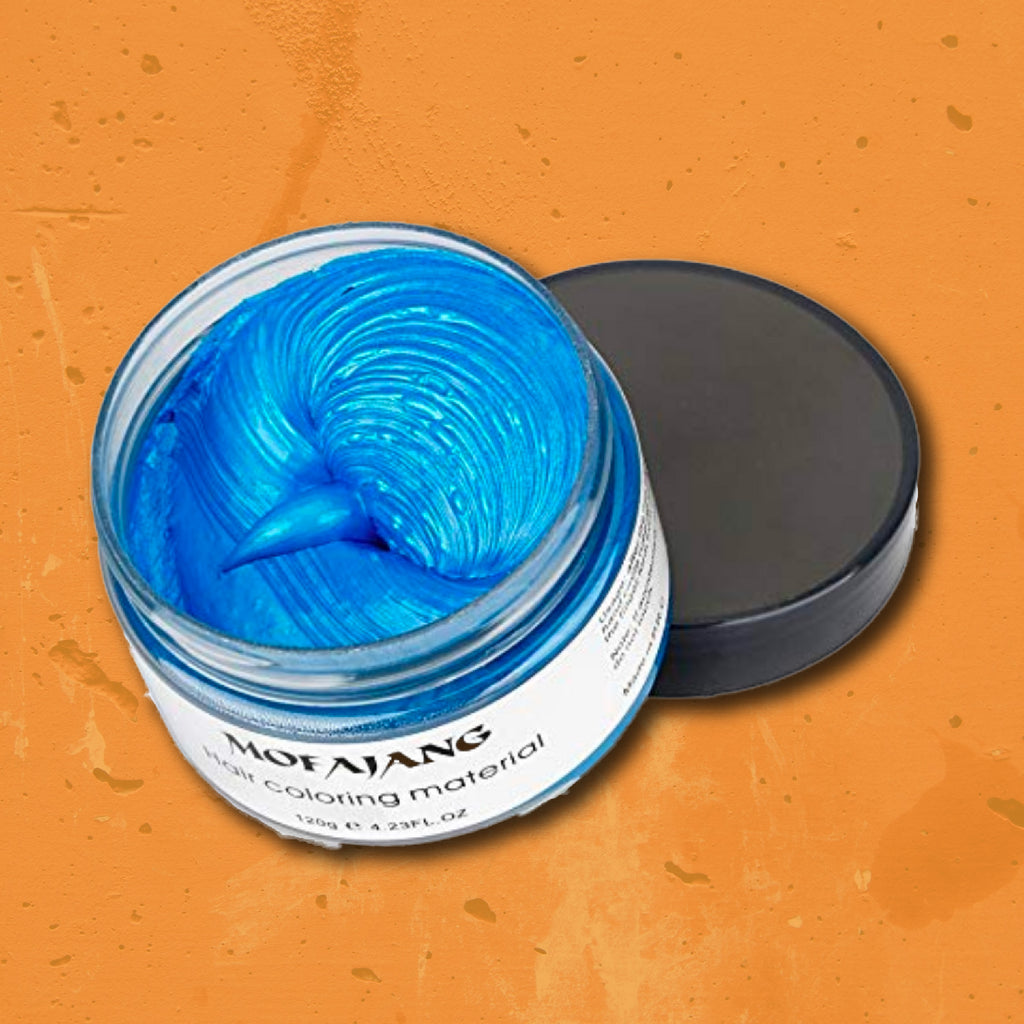Hair Wax: Blue