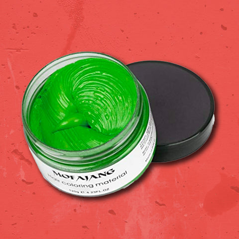 Hair Wax: Green