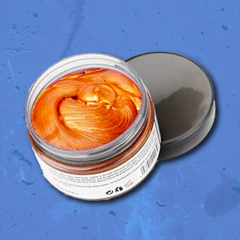 Hair Wax: Orange