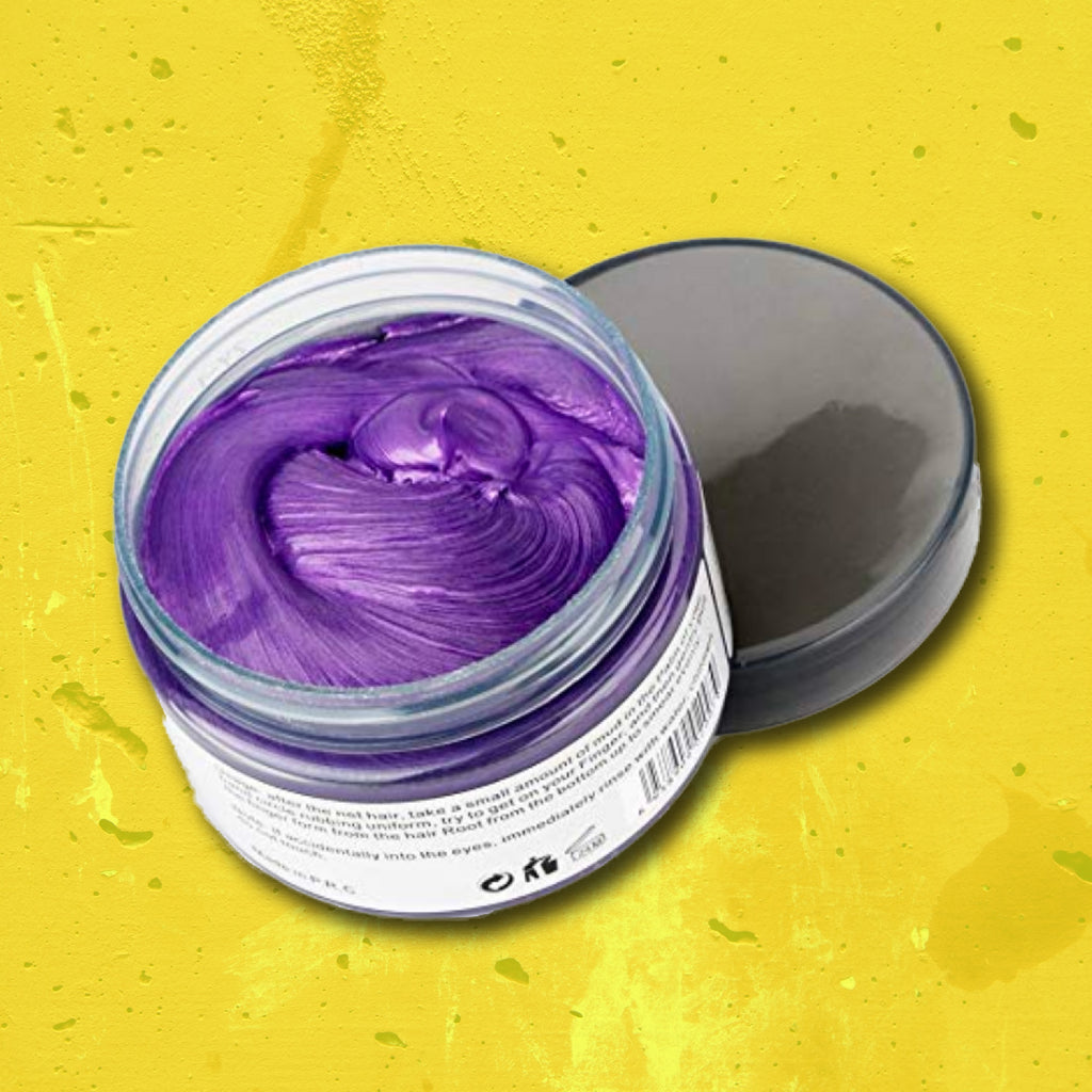 Hair Wax: Purple