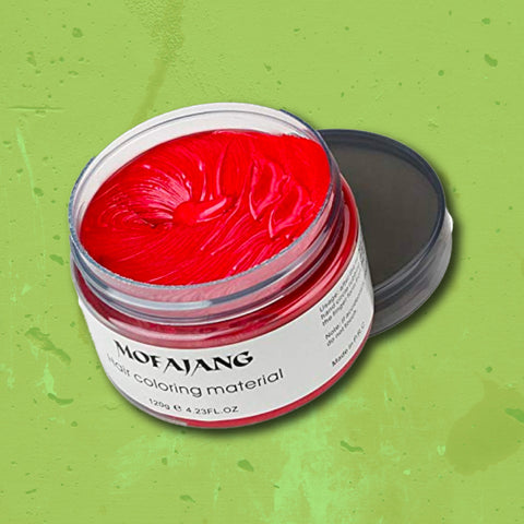 Hair Wax: Red