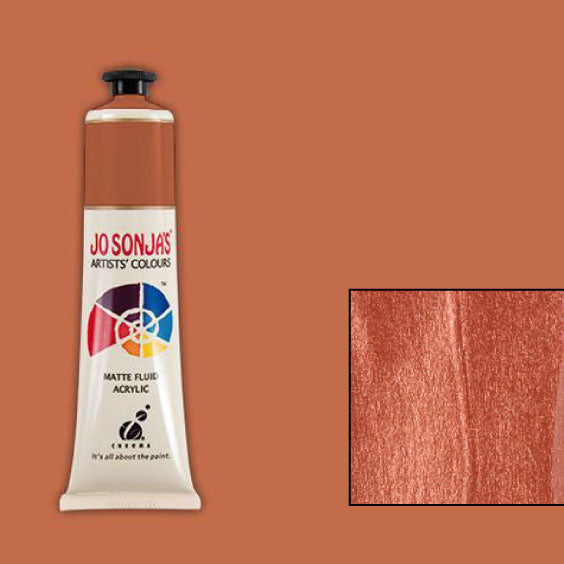 Jo Sonja's Acrylic Paint: Burnished Copper (75ml)