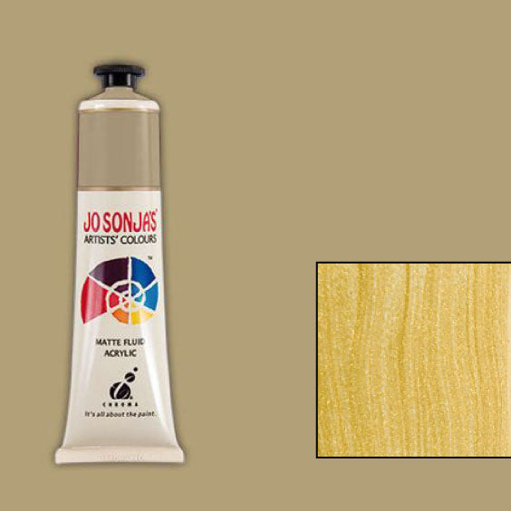 Jo Sonja's Acrylic Paint: Pale Gold (75ml)