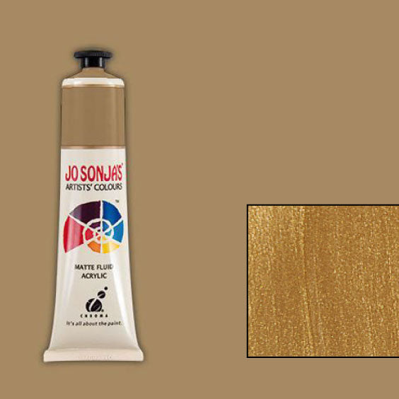 Jo Sonja's Acrylic Paint: Rich Gold (75ml)