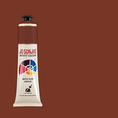 Jo Sonja's Acrylic Paint: Burnt Sienna (75ml)