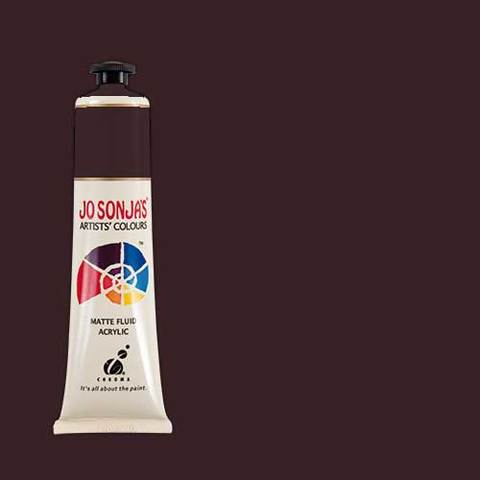 Jo Sonja's Acrylic Paint: Burnt Umber (75ml)