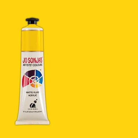 Jo Sonja's Acrylic Paint: Cadmium Yellow Mid (75ml)