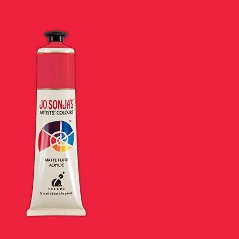 Jo Sonja's Acrylic Paint: Napthol Red Light (75ml)