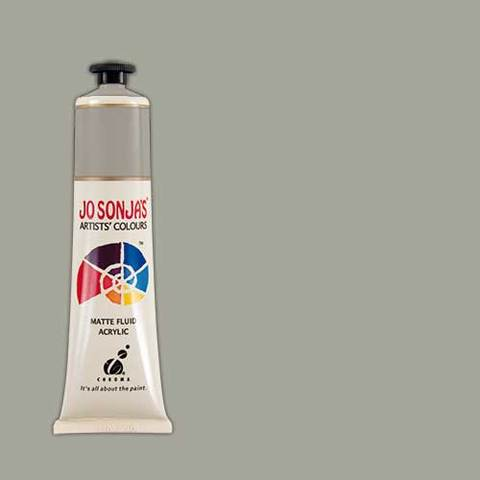 Jo Sonja's Acrylic Paint: Nimbus Grey (75ml)
