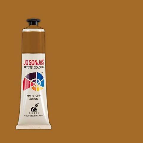 Jo Sonja's Acrylic Paint: Raw Sienna (75ml)