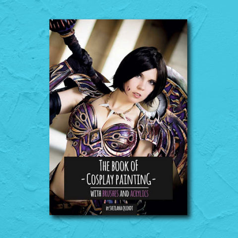 kamui cosplay book painting