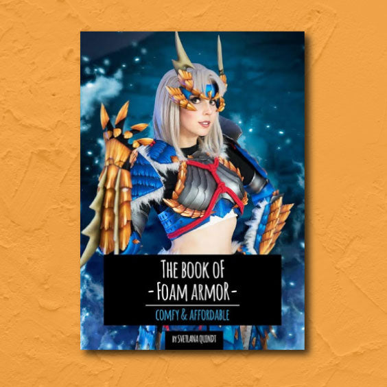kamui cosplay book foam armor armour