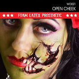 cosplay zombie foam latex prosthetic