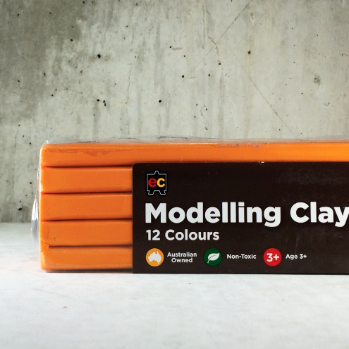 EC Modelling Clay: Orange