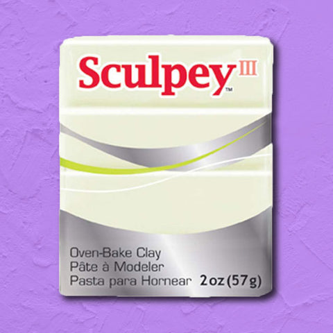 cosplay Sculpey clay glow in the dark