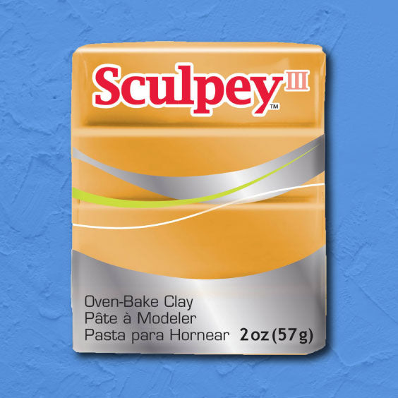 cosplay Sculpey clay gold