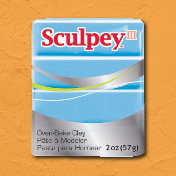 cosplay Sculpey clay light blue pearl