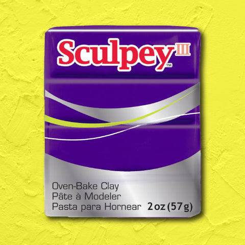 cosplay Sculpey clay purple