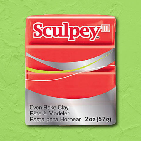 cosplay Sculpey clay red hot red