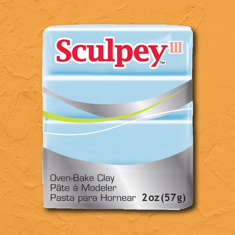 cosplay Sculpey clay sky blue