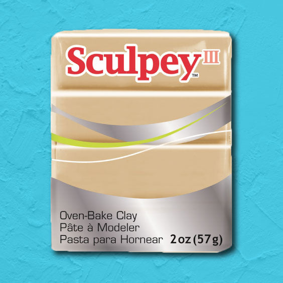 cosplay Sculpey clay tan