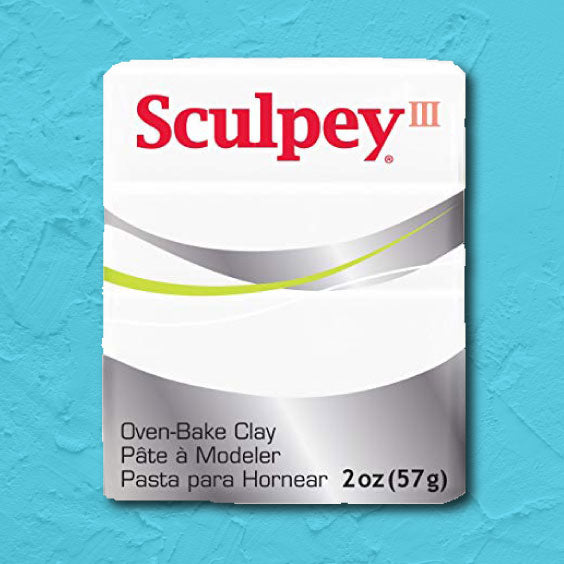 cosplay Sculpey clay white