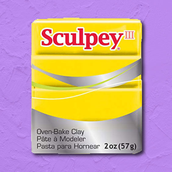 cosplay Sculpey clay yellow