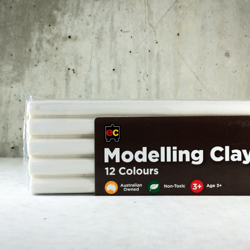 EC Modelling Clay: White
