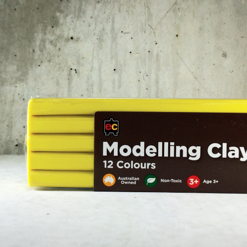 EC Modelling Clay: Yellow