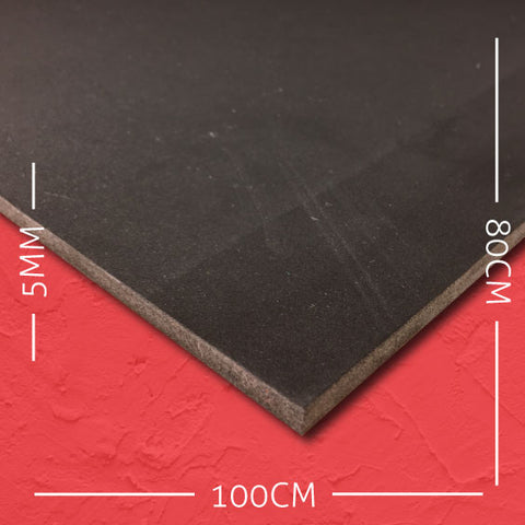 5mm EVA Black: 100cm x 80cm