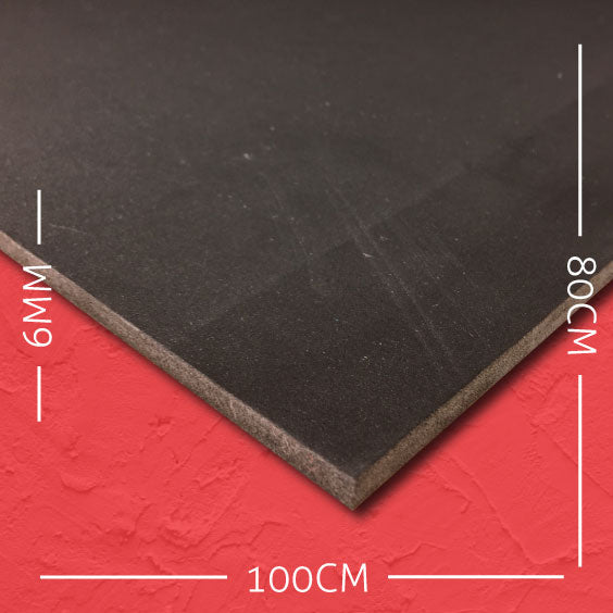 6mm EVA Black: 100cm x 80cm