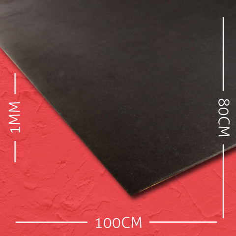 1mm EVA Black: 100cm x 80cm