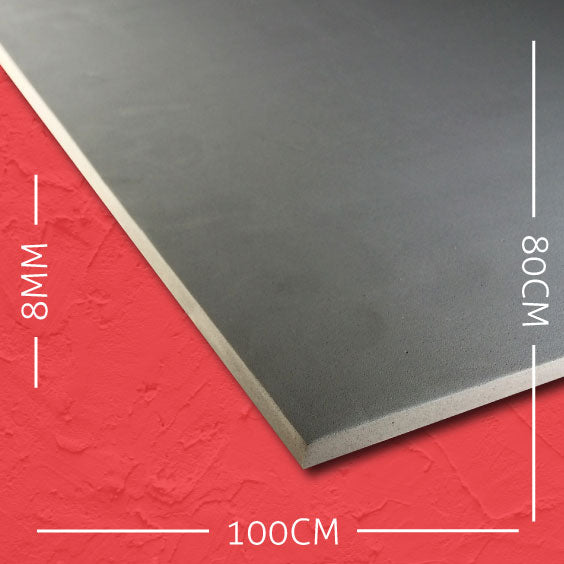 8mm EVA Grey: 100cm x 80cm