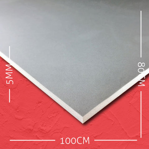 5mm EVA Grey: 100cm x 80cm