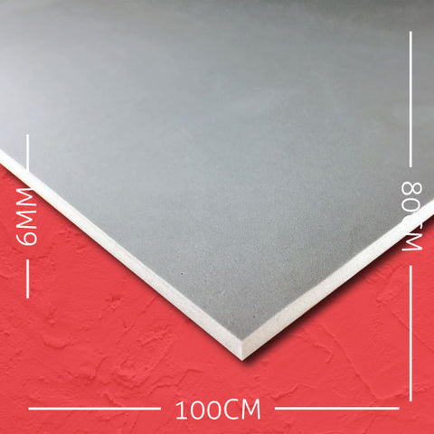 6mm EVA Grey: 100cm x 80cm