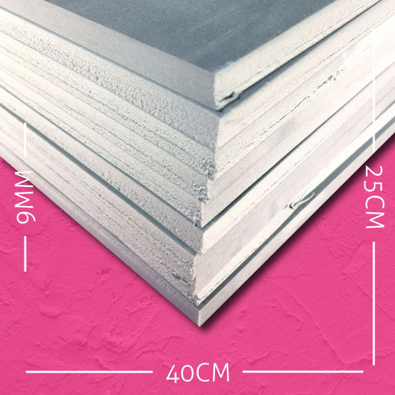 9mm EVA Grey: 40cm x 25cm (10 pack)