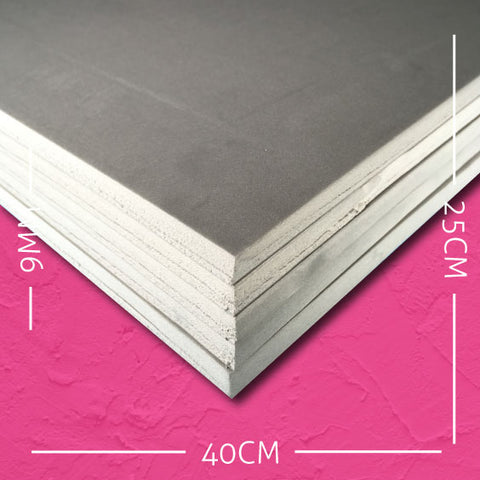 9mm EVA Grey: 40cm x 25cm (5 pack)