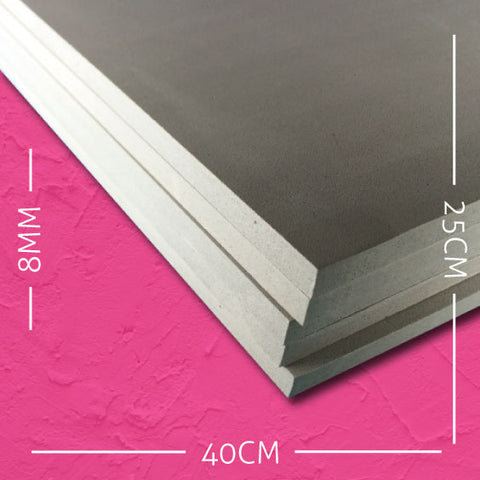 8mm EVA Grey: 40cm x 25cm (5 pack)