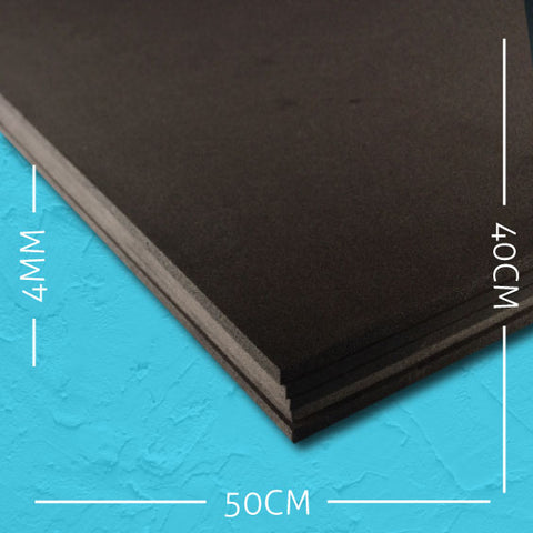 cosplay foam EVA black 4mm