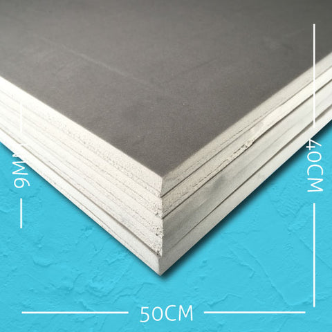 9mm EVA Grey: 50cm x 40cm (5 pack)