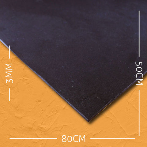 cosplay foam EVA black 3mm