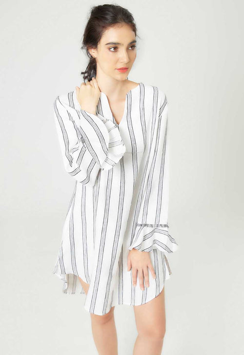 Linen Kaftan Dress - Mae & Pearl