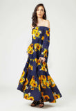 Bella Sunflower Maxi Dress - Mae & Pearl