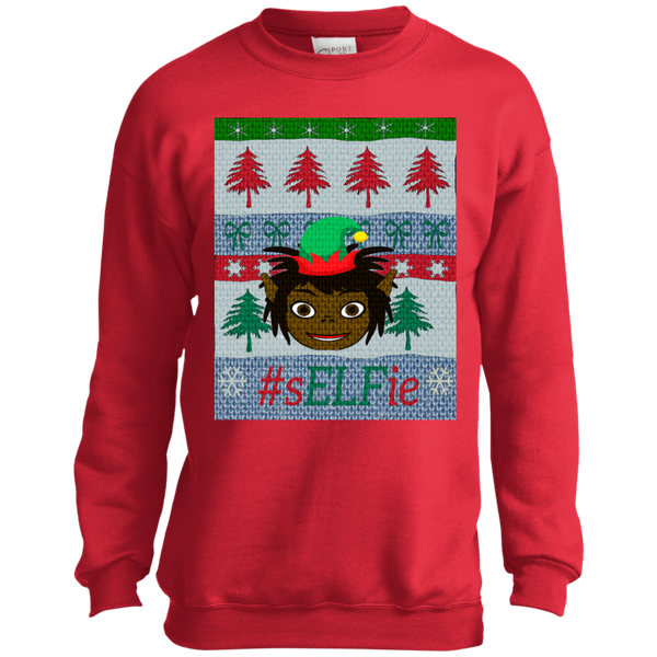 Christmas Sweatshirt- Little Dreadlocks