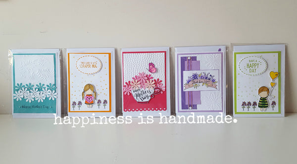 Handmade Greeting Cards grouped