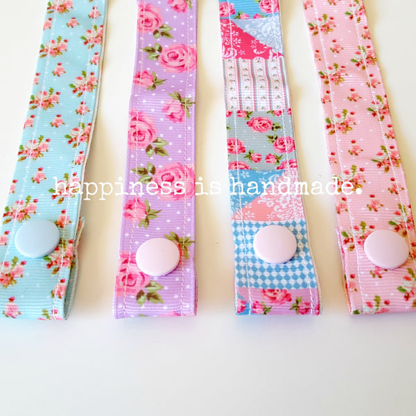 Floral Dummy Clips