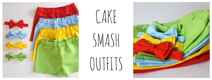 Handmade Cake Smash Outfits for Baby or Toddlers