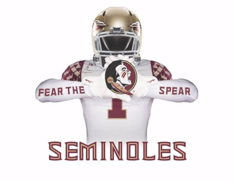 Fear The Spear Reversible Seminoles Magnet